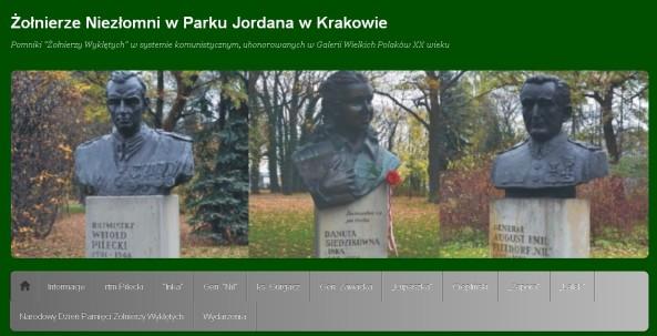 Nowa strona o patriotycznych wydarzeniach w Krakowie